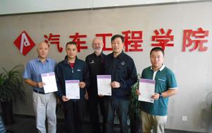 Emtec delegates in Beijing