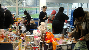 Charity Tombola Success ESOL