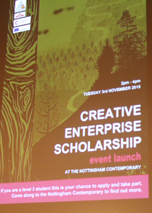 Creative Scholarship Launch