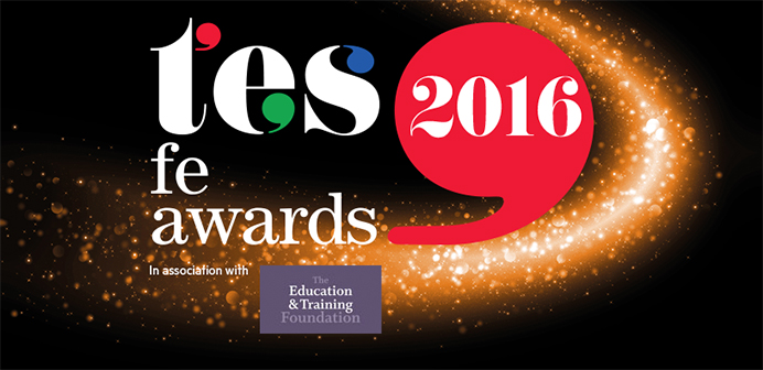 tes awards 2016