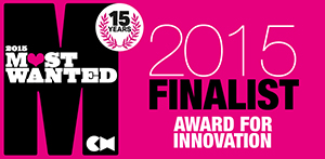2015 Most Wanted Finalist Award for Innovation